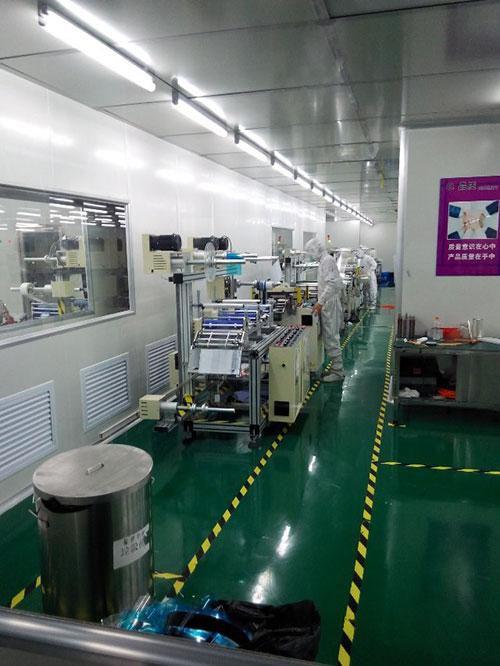 光电光学行业净化工程