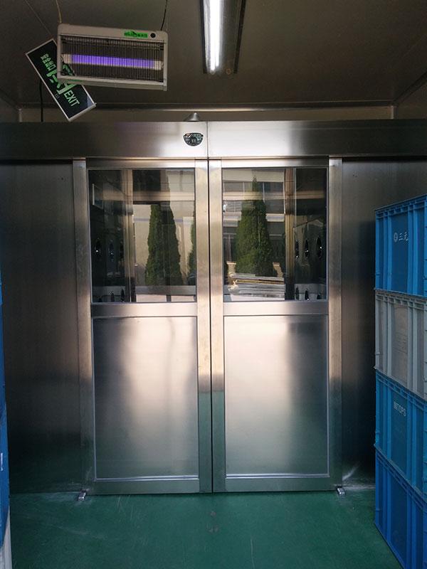 全自动门货淋室