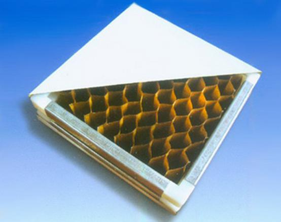 纸蜂窝耐火净化板